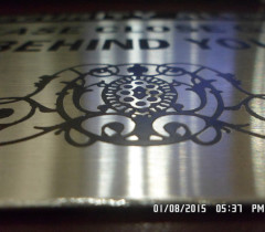 stainless steel etching plate1
